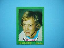 1973/74 O-PEE-CHEE NHL HOCKEY CARD #144 TIM ECCLESTONE NM SHARP!! 73/74 OPC