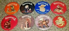 """8 Krystonia Fantasy Mythical & Magic Promotional Event Pin Pinback Buttons 3"""""""