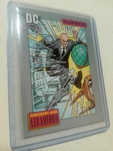 [1991] Lex Luthor, DC Comics Heritage Trading Card #27 [NM+ Near Mint 9.8] Impel