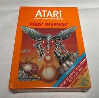 Yars Revenge Atari 2600 Video Game 1981 Factory Sealed + Comic Book + Hang Tag