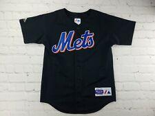 VTG 90s MLB Majestic New York Mets Mike Piazza Baseball Jersey Youth Medium