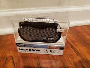 NEW Altec Lansing  BABY BOOM Waterproof  Bluetooth Speaker - Black