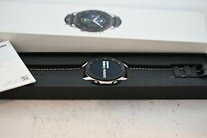 Samsung Galaxy Watch 3 45mm Bluetooth Black NEW STRAP GREAT CONDITION UK MODEL