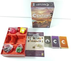 Century: Spice Road Board Game Checked 100% Complete Excellent Condition Fun