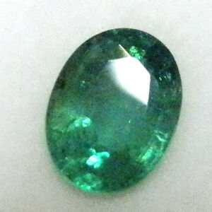 Natural earth-mined green emerald ..1.2 carat... No oil...$5000 Valuation