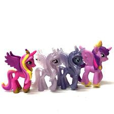 "Lot 4PCS MY LITTLE PONY Princess Friendship is Magic 2"" Figure collect MLP toy"
