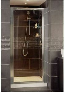 Pivot Shower Door 760mm Collage by Roman RO.CFP13S **REDUCED**