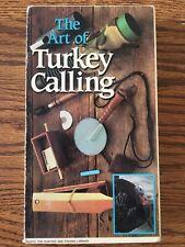 The Art of Turkey calling Vhs