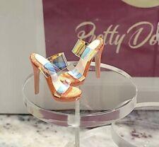 Integrity Toys Meteor Keeki Adaeze STILL POPPIN DOLL citrus-colored heels