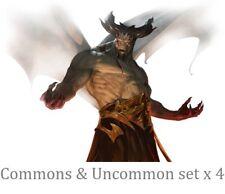 DOMINARIA Magic the Gathering UNCOMMON SET x 4 + COMMON (500 Random)