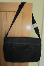 BRUNOTTI BLACK LAPTOP/WORK/MESSENGER  BAG ~ NEW