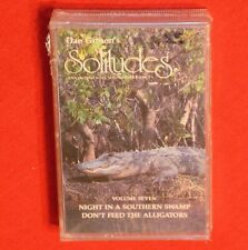DAN GIBSON SOLITUDES NIGHT IN A SOUTHERN SWAMP ALLIGATOR SEALED CASSETTE TAPE