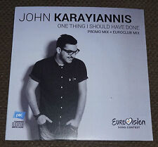 Eurovision 2015 Cyprus John Karayiannis One thing i should have done