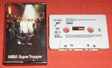 ABBA - UK CASSETTE TAPE - SUPER TROUPER
