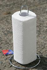 Porte-rouleau de cuisine en acier inoxydable chromé incl. 1 papier REINEX
