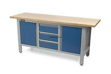 Werkbank mit Holztisch 169cm