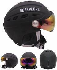 Ski Snowboard Skiing Helmet Visor Detachable Photochromic Polarizing Goggles