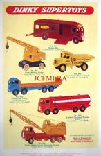 1958 Dinky Toys ADVERT Coles Lorry-Mounted Crane, Horse Box etc Vintage Print AD