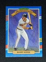 1991 Donruss Diamond Kings BARRY BONDS #4 Pittsburgh Pirates MINT/CENTERED