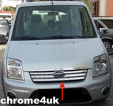 FORD TRANSIT CONNECT FRONT GRILL TRIM COVER CHROME STAINLESS STEEL 2009 TO 2013