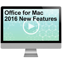 Office for Mac 2016 New Features 2016 Video Training Course