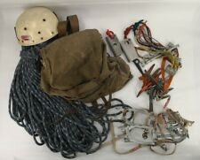Vintage Climbing Mountaineering Huge Set Pitons Rope Helmet Camp Cassin Big Wall