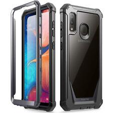 Samsung Galaxy A20,Poetic® [Ultra Hybrid] Bumper Shockproof Cover Case Black