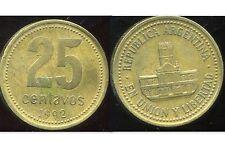 ARGENTINE 25 centavos  1992  ( bis )