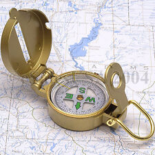 Compass Army Scouts Metal Hiking Camping Boys Survival Fishing Hunting Girls Boy