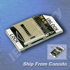 Low Profile MicroSD / TF to SD Card Adapter for Raspberry Pi