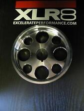 XLR8 Unorthodox Lightweight Aluminum Stock Diameter Crank Pulley Acura TSX