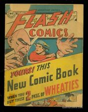 Flash Comics Wheaties Giveaway  GD 2.0