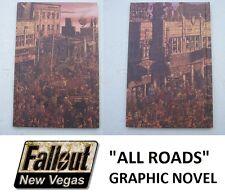 Fallout NEW VEGAS tutte le strade Graphic Novel oggetto da collezione-NUOVO-POST VELOCE
