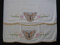 vintage pillowcase set, hand embroidery, pillow case, embroidered pillowcases 15