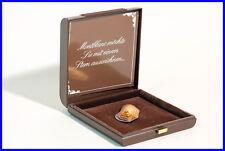 Rare Montblanc Brosche Auszeichnung 925 Silber vergoldet Vermeile Patina mit Box