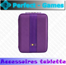 "Housse etui protection iPad Samsung galaxyTab tablettes 10""case logic violet"