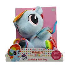 My Little Pony Rainbow Dash Baby Plush Teether Activity Soft Toy from Birth