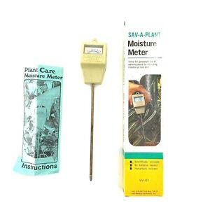 Vintage Luster Leaf Save A Plant Moisture Meter MM-425