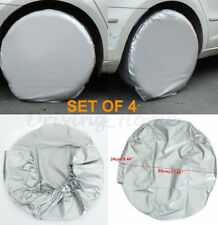 4pcs Set Heavy Duty RV Car Wheels Tire Covers For Truck Trailer Camper Motorhome