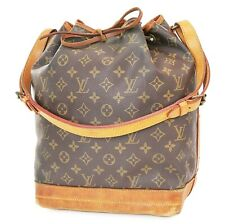 Authentic LOUIS VUITTON Noe Monogram Shoulder Tote Bag Purse #37754