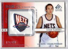 1X ZORAN PLANINIC 2003 04 SP Signature #122 RC Rookie LOGO Nets Serial #d 74/499