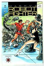 MAGNUS ROBOT FIGHTER #1 (NM-) Collectors Item 1st Issue! Valiant 1991 High Grade