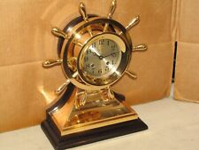 "CHELSEA ANTIQUE SHIPS BELL CLOCK~4 1/2"" MARINER MODEL~1923~RESTORED"