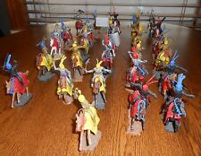 Timpo Toys Mounted Knights Lot Of 28 Vintage