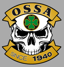 OSSA Skull Sticker