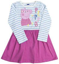 Vestidos de niña de 2 a 16 años de color principal multicolor 100% algodón