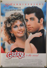 GREASE DS ROLLED ORIG 1SH MOVIE POSTER TRAVOLTA OLIVIA NEWTON-JOHN RR97 (1978)
