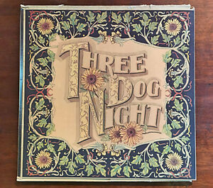 Three Dog Night – Seven Separate Fools - 1972 Vinyl LP - with all 7 Cards