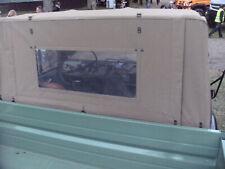 Unimog Verdeck - NEU - für U 406/403/416 gerade Scheibe