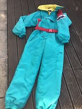RETRO SKI SUIT ADULTS SIZE M, YOU BE SEEN ON THE SLOPES IN THIS LITTLE BEAUTY